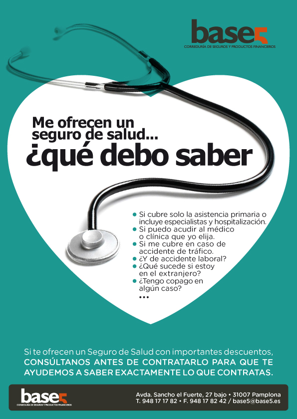 Newsletter Base 5 Seguro de salud